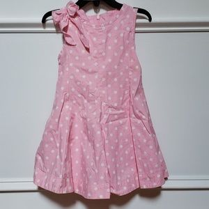 Children's Place💞Pink Polka Dot Summer Dress 3T